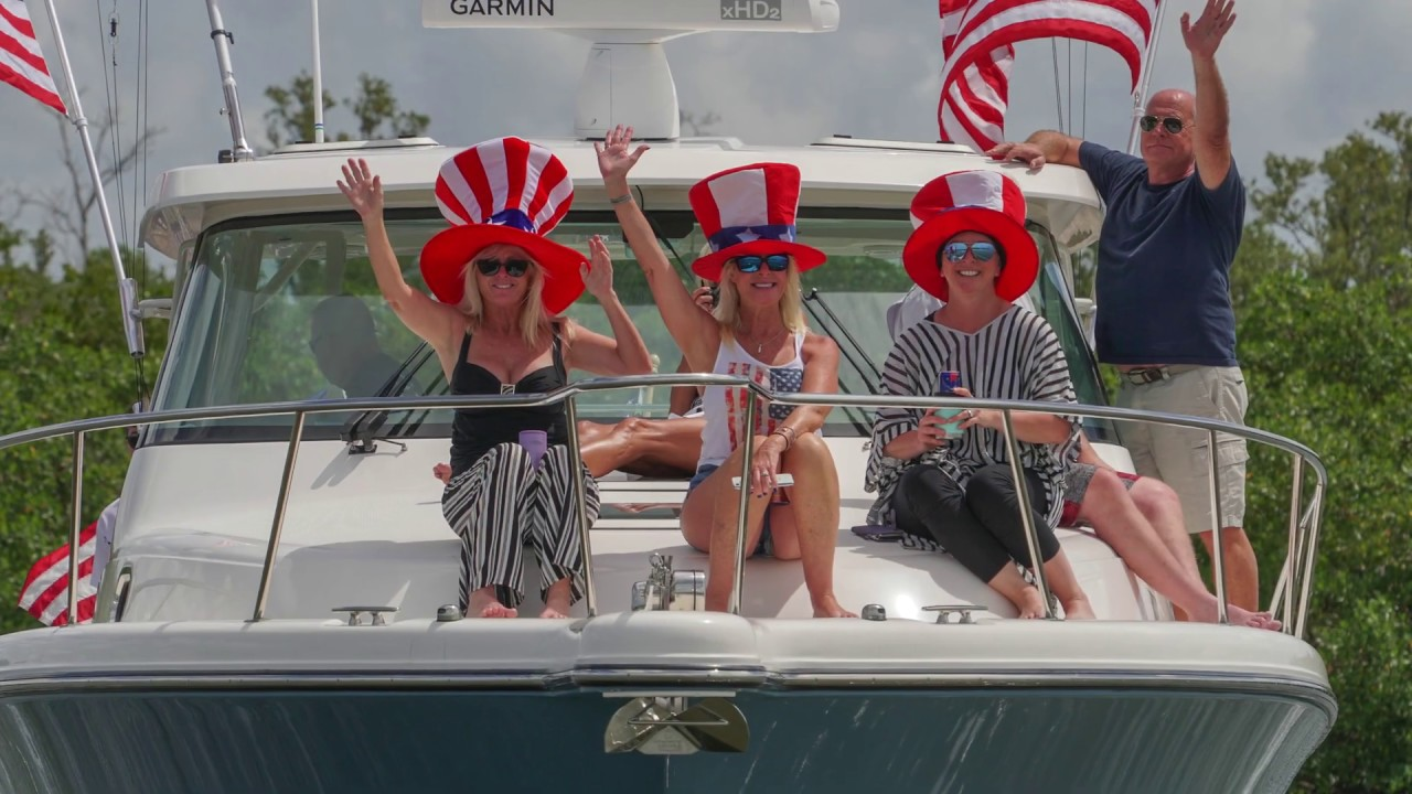 Naples FL: May 23, hundreds of boats, thousands of patriots, one of the first KAGATTAS: see it all!