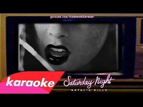 Natalia Kills - Saturday Night (Instrumental+Lyrics) {download} [2o13]