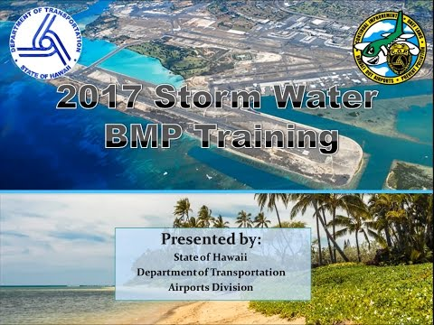 2017 Storm Water Training for DOTA Tenants - 1080p