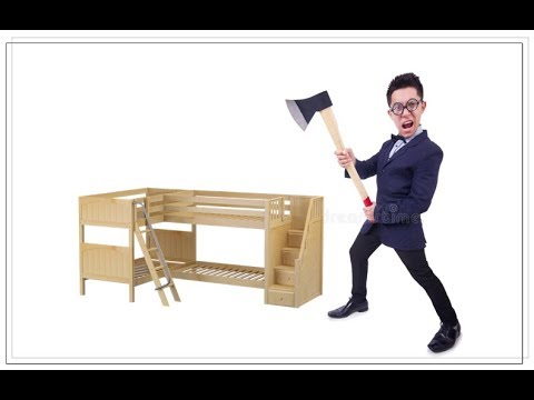 Loft Bed Plans - How to Build A Loft Bed? - YouTube