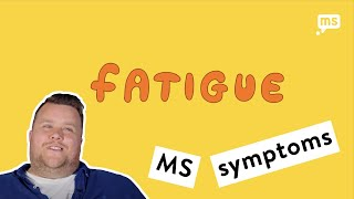 Dean shares his experience of MS fatigue 1 of 3
