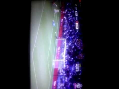 El primer gol de morata en (Real Madrid)