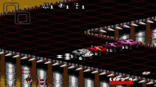 Rock n' Roll Racing (Sega Mega Drive) Gameplay