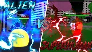 Project:OPM | ALIEN CLASS VS SUPERHUMAN CLASS | Roblox Project:OPM