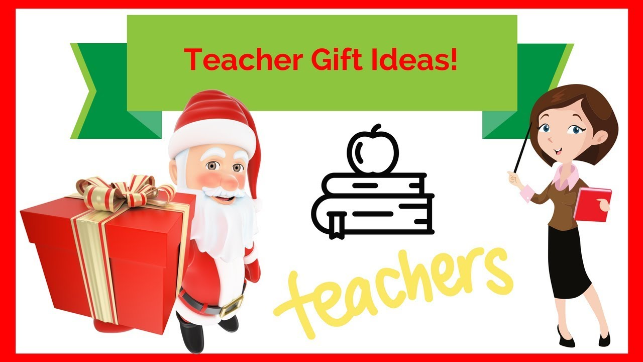 Teacher christmas gift ideas from child