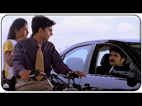 Nagarjuna Comedy Conversation On Lover || Manmadhudu Movie