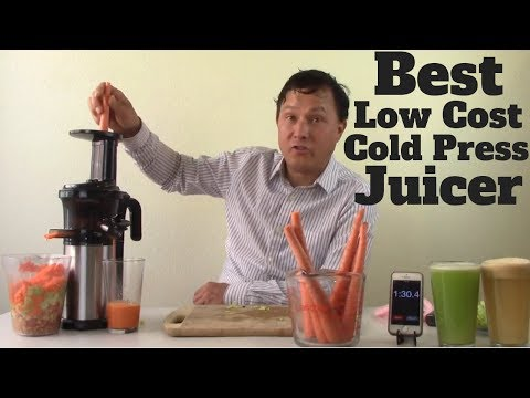 Best Low Cost Compact Vertical Cold Press Juicer