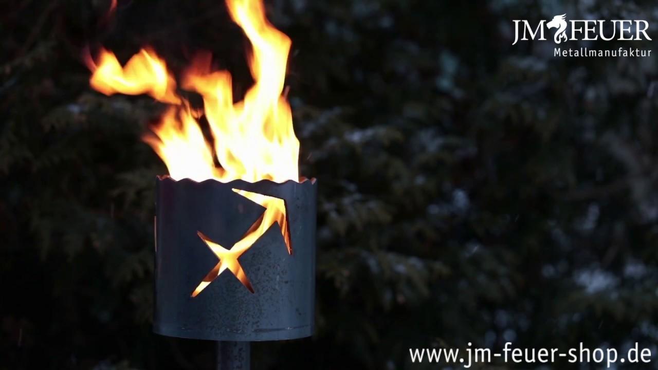 Jm Feuer Shop gartenfackel sternzeichen schütze aus metall