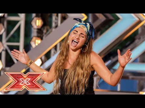 Talia Dean casts her spell on the Judges | Auditions Week 2 | The X Factor 2017