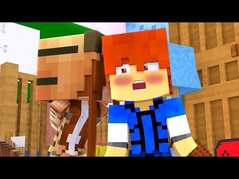 Minecraft Daycare - FIRST KISS !? (Minecraft Roleplay)