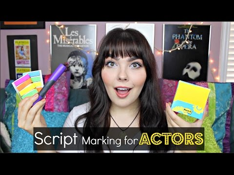 How I Mark my Scripts! | Actor Advice