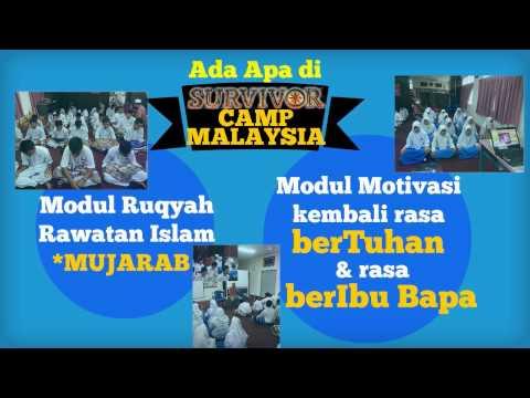SURVIVOR CAMP MALAYSIA - Kenapa Anak Tersayang Wajib Menyertainya?