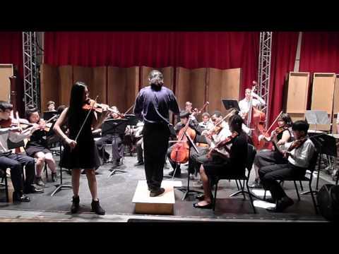 Brooklyn College - Bruch Violin Concerto Movement 1