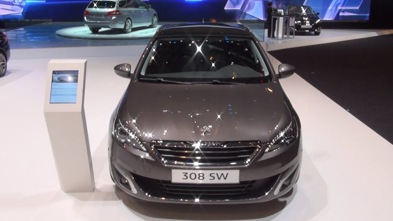 Image [ 37 of 50 ] - Peugeot 308 Sw Fline Bluehdi 2018 Exterior And ...