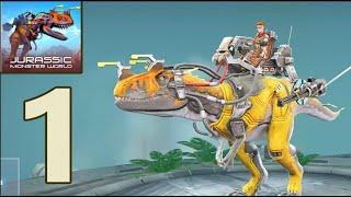 Gambar cover Jurassic Monster World: Dinosaur War : Gameplay Walkthrough Part 1(iOS, Android)