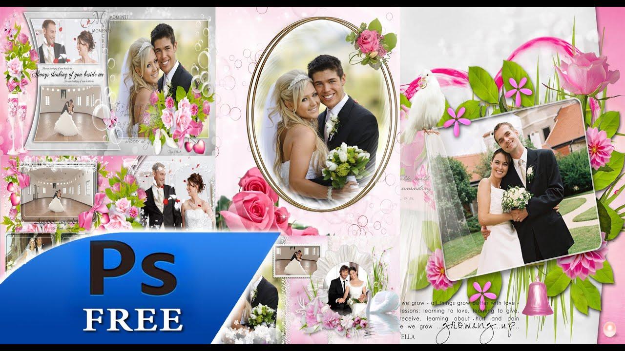 Mega dvd boda plantillas para photoshop youtube - Cuadros para habitacion de matrimonio ...