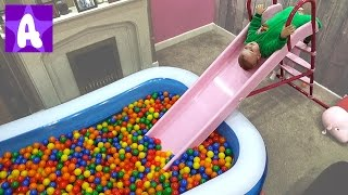 The Ball Pit Show for Kids by Funny Alex