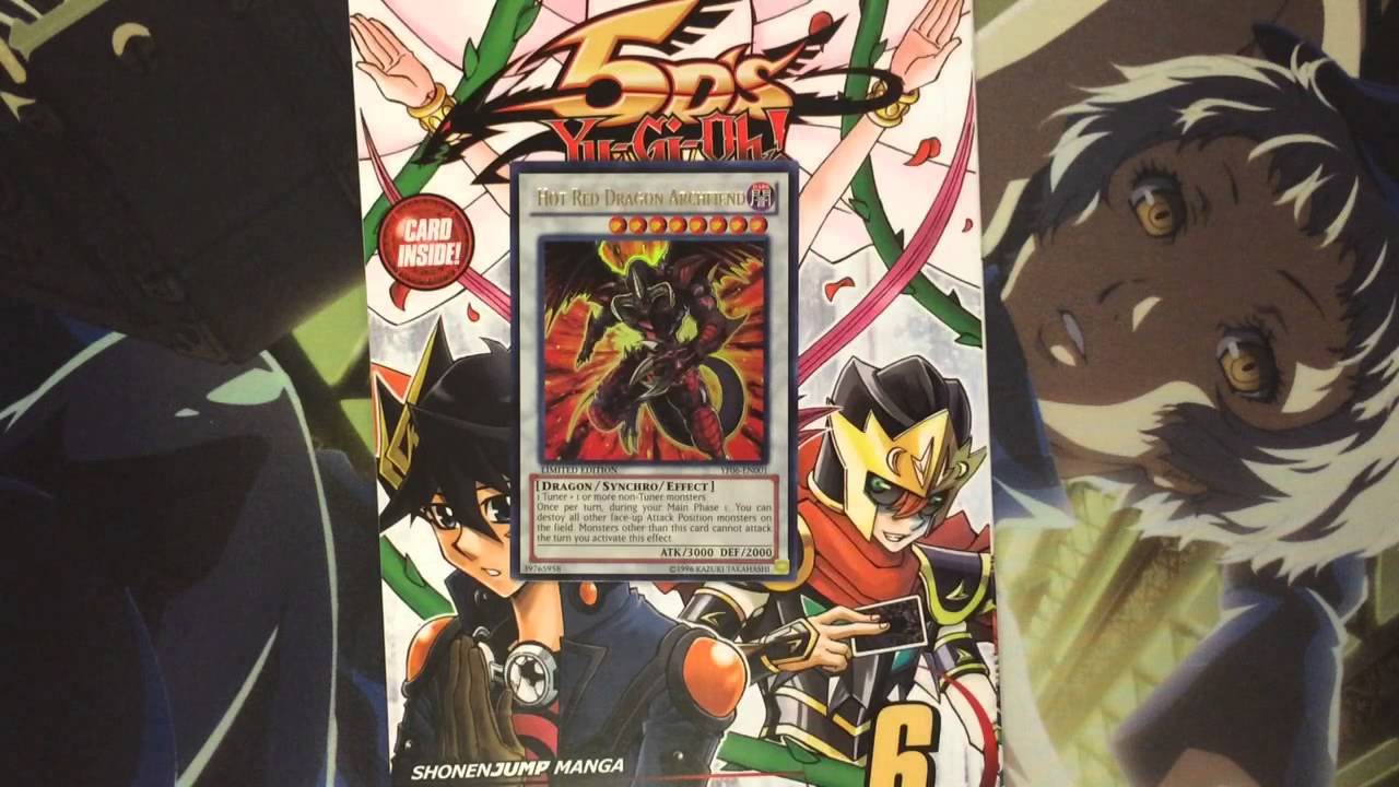 My Yugioh 5Ds Volume 6 Manga Review Hot Red Dragon