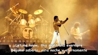 """""""Las Palabras de Amor"""" Queen (sub. inglés y español)"""