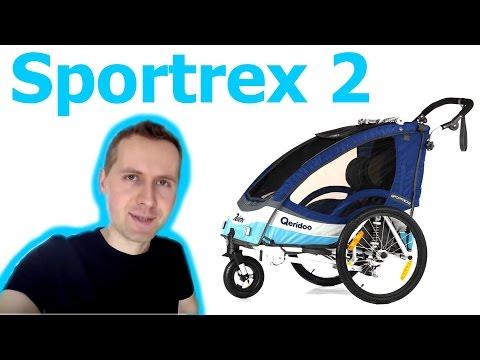 Przyczepka Rowerowa Dla Dzieci - Qeridoo Sportrex 2  (#12)