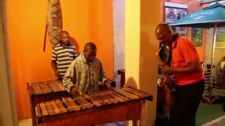 Amazing South African Music at Mzansi's Restaurant in Langa Township, Cape Town