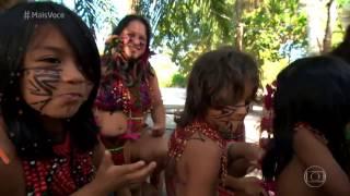 'Na Estrada'  Nadia Bochi e Jimmy conhecem as belezas de Prado   Mais Você   gshow 8 Bar do Índio