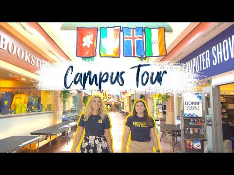 Summer At The University Of Michigan: Campus Tour