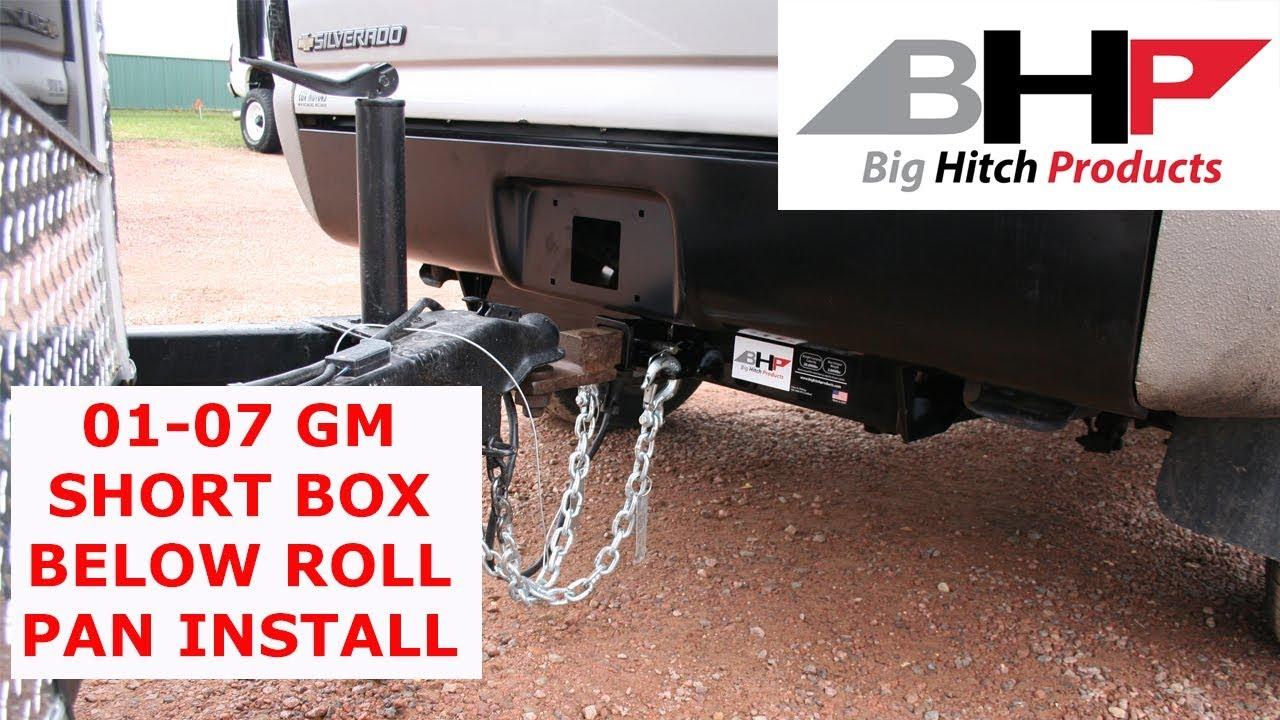 Bhp 01 07 Gm Short Box Below Roll Pan 2 Inch Receiver