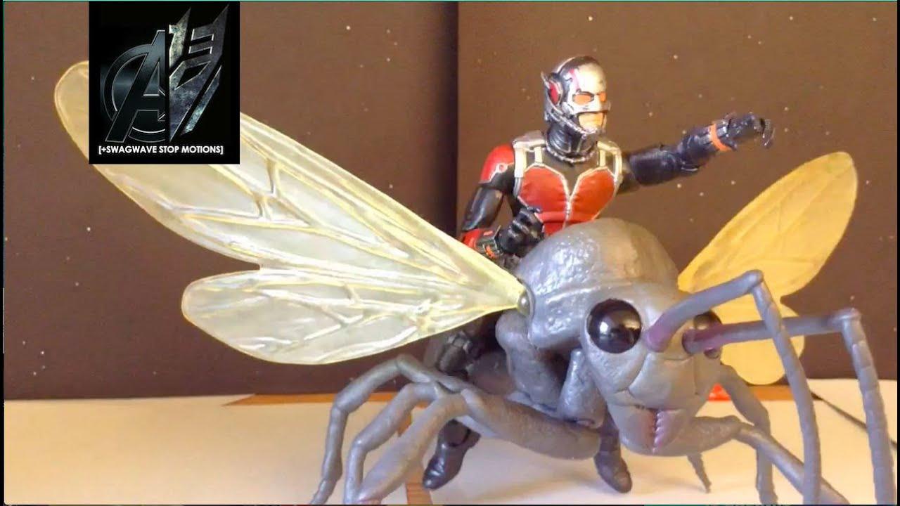 Antman Stop Motion- Antman vs Yellowjacket