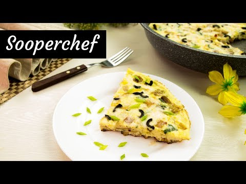 Frittata Recipe (with Potatoes and Sausage) By SooperChef