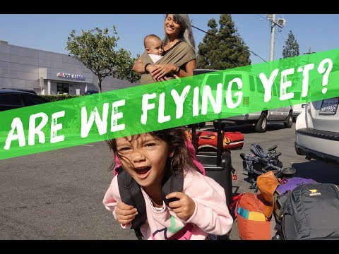 Are We Flying Yet? | Traveling with Two Kids to Asia