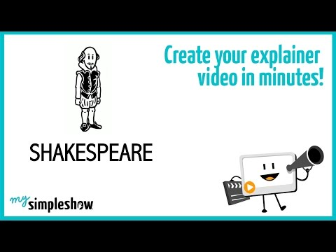 Find out about William Shakespeare in this short explainer video.Create your own video with mysimpleshow.com