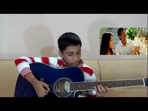 Tujh Mein Rab Dikhta Hai Guitar Instrumental with TABS - Rab Ne Bana Di Jodi