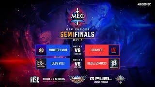 DEUS VULT vs BEDEL | MEC Europe | April Semifinals | Global 1 Mobile Legends Tournament