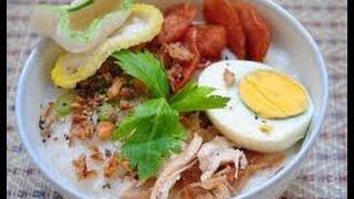 Resep Masakan Bubur Ayam Spesial
