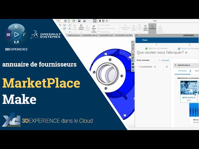 MarketPlace Make - devis de fabrication