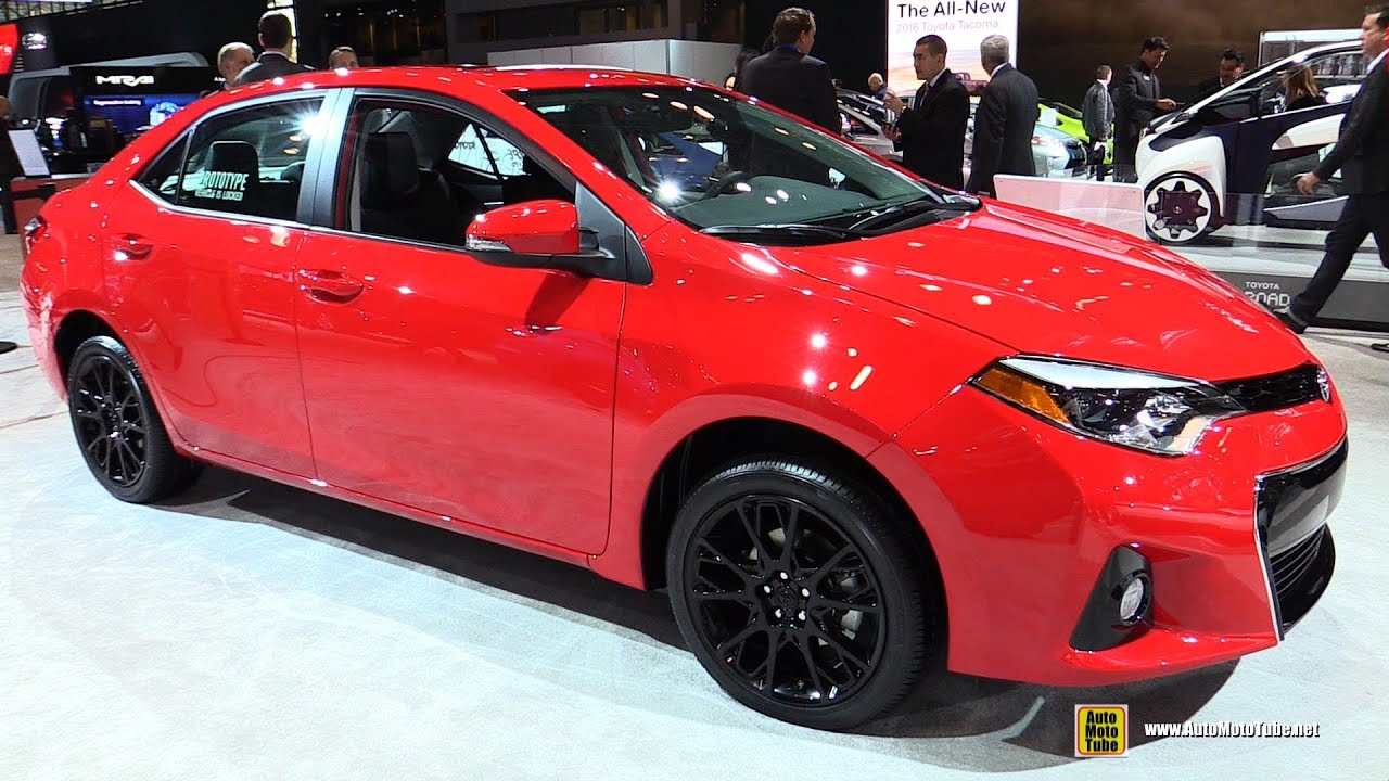 2016 Toyota Corolla Se Special Edition Exterior And Interior Walkaround 2015 New York Auto