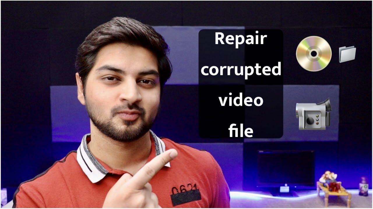 How to repair corrupted/Damaged  video file? | Wondershare repairit | Mohit Balani