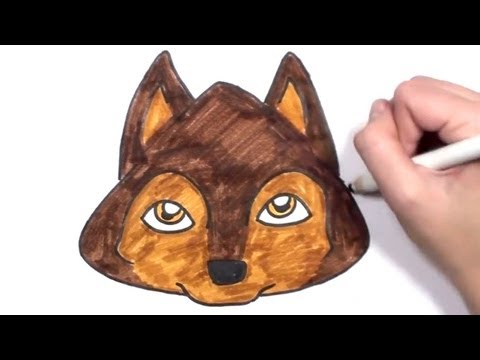 how-to-draw-a-cartoon-dog-face-|-mlt