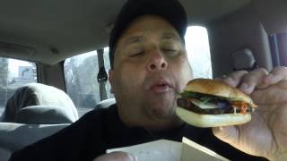 Wendy's® Ciabatta Bacon Cheeseburger Review!!