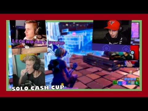 Tfue Solo Cash Cup Into Squad Scrims – Fortnite Funny Fails And Wtf Moments