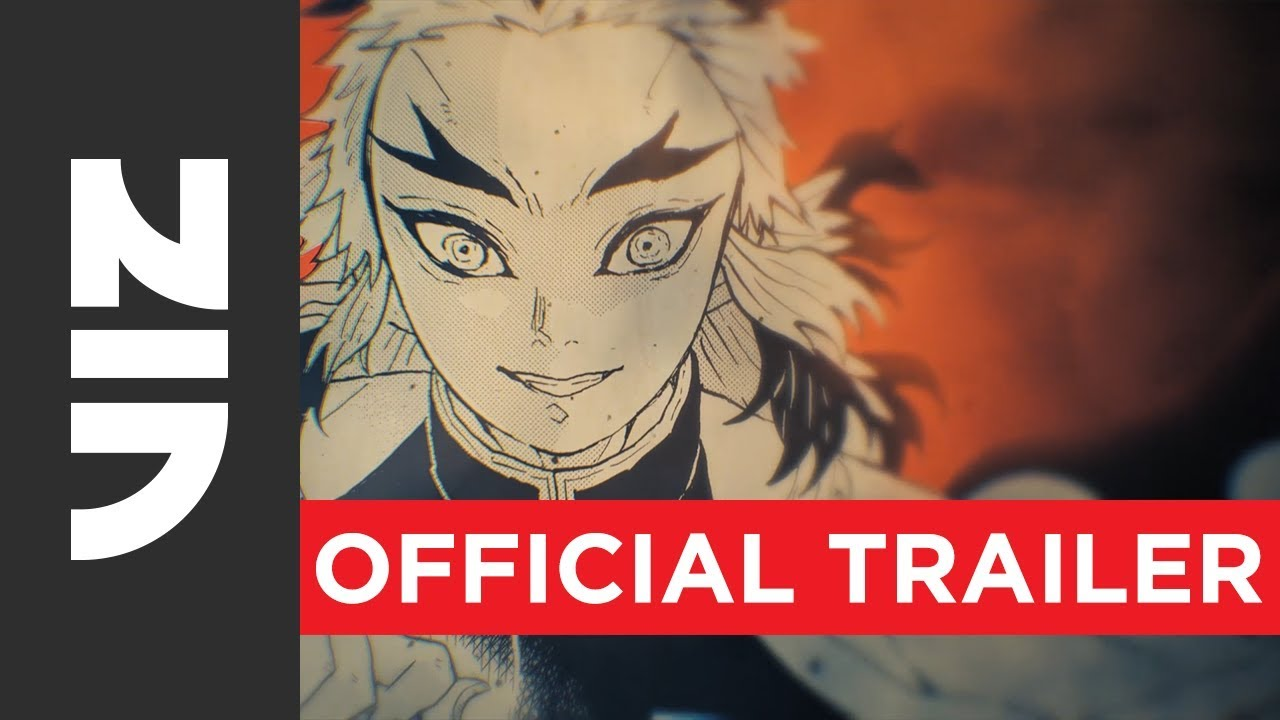 Demon Slayer: Kimetsu no Yaiba - Official Trailer