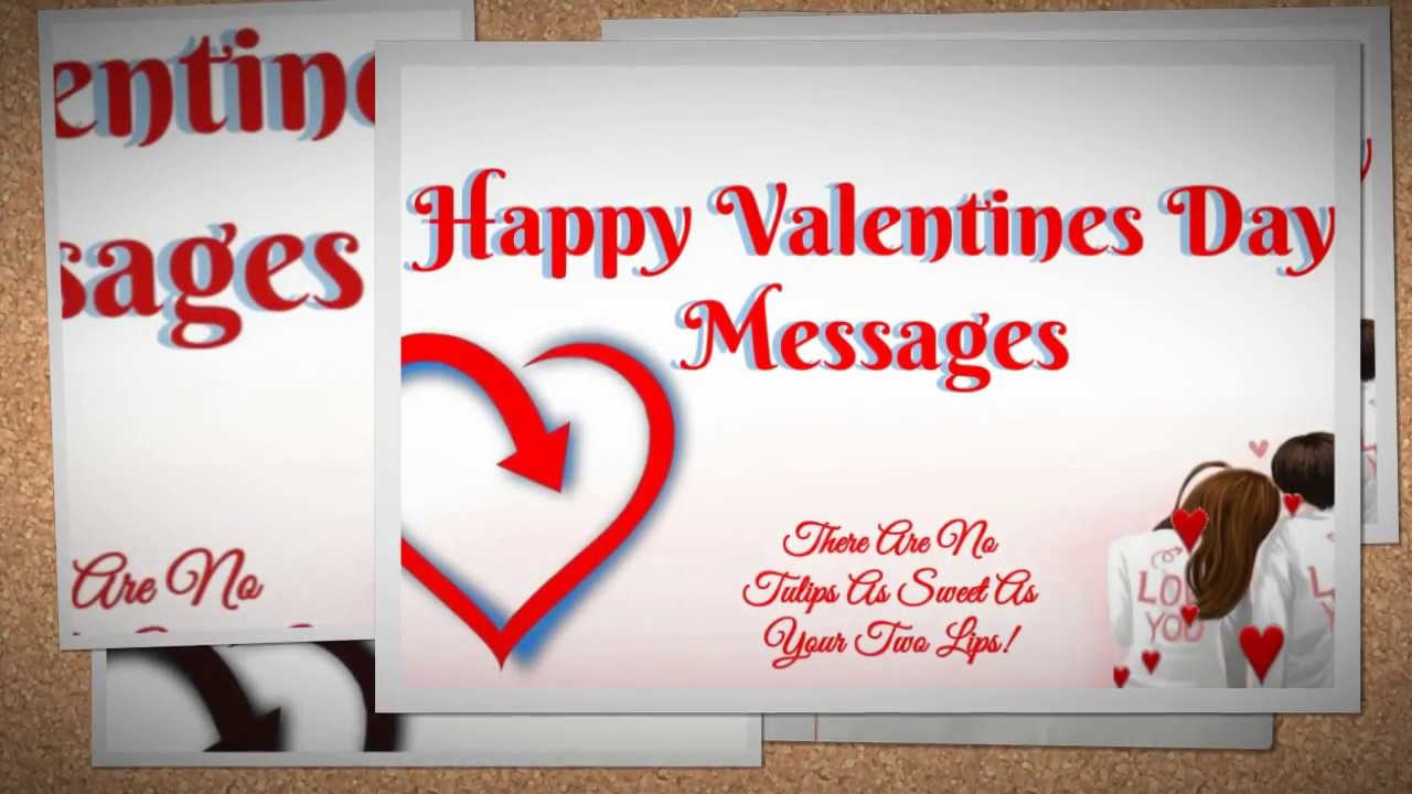 Happy Valentines Day Messages Valentines Day 2018 Sms Youtube