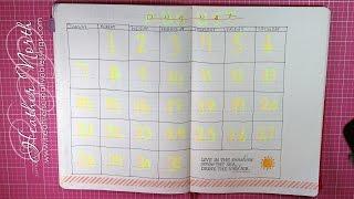 bullet journal planner   august   july   bujo