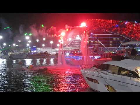 Hydro water Sports Flyboard Show
