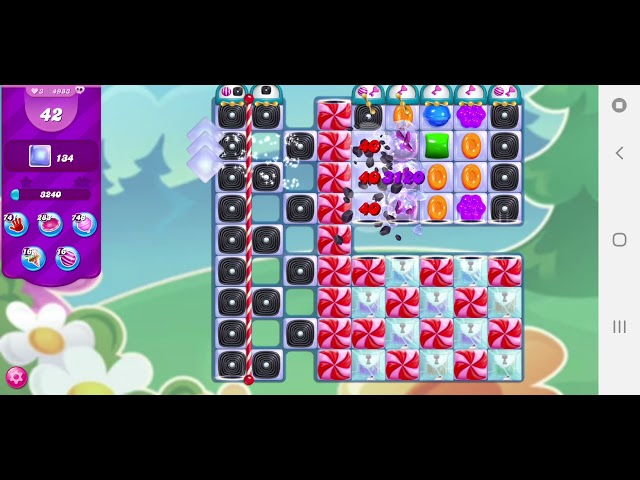 Candy Crush Saga niveau 4983