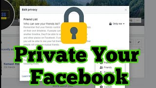 Make Facebook Completely Private | Facebook Privacy Settings