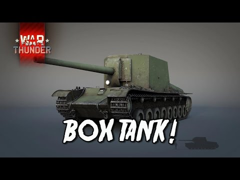 War Thunder - Box Tank!