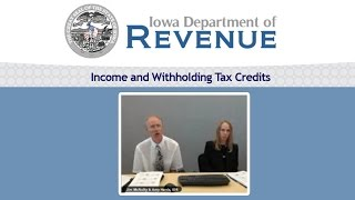 Income and Withholding Tax Credits