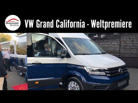 VW Grand California 600/680 2019 - Weltpremiere Caravan Salon 2018